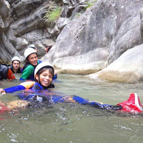 canyoning activ rock