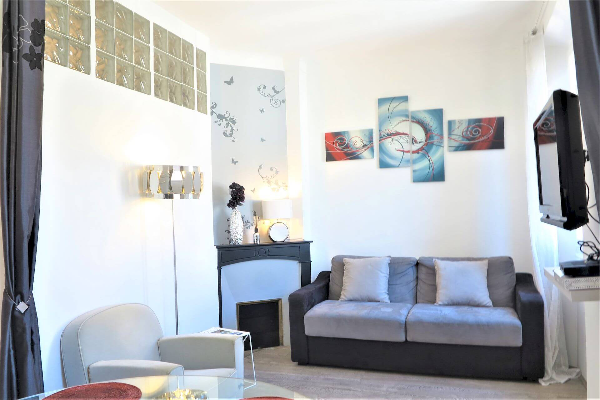 location appartement moderne cannes