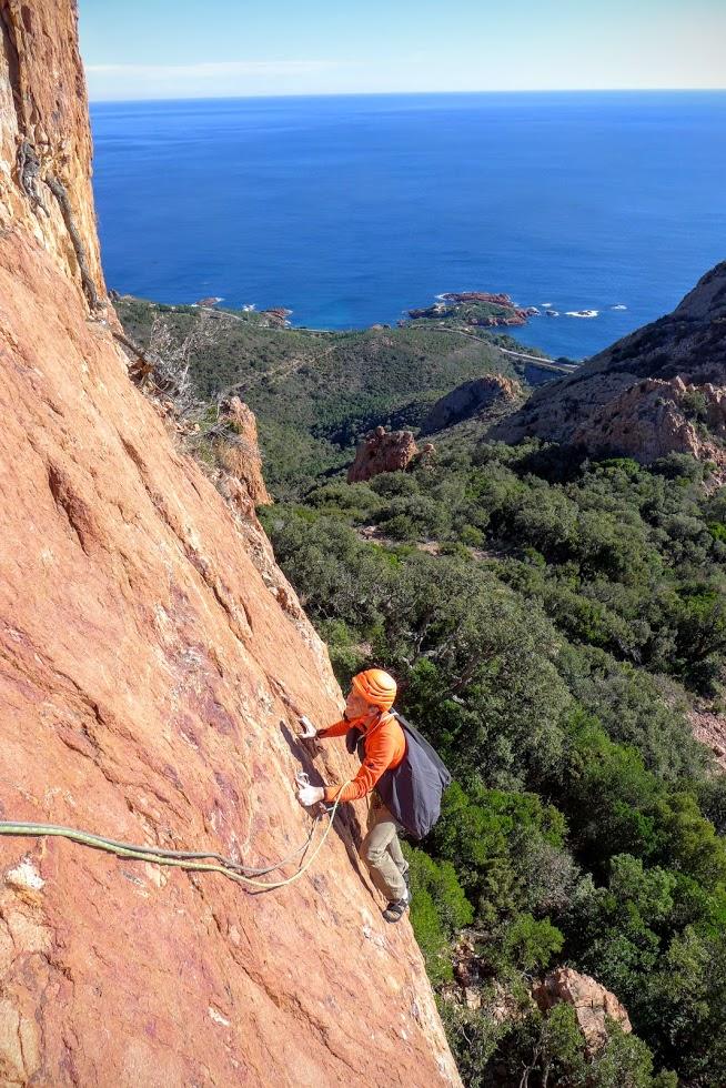 Escalader les montagnes de la Côte d'Azur