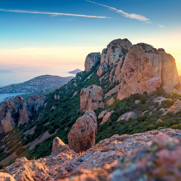 Esterel Summit con vista sul mare